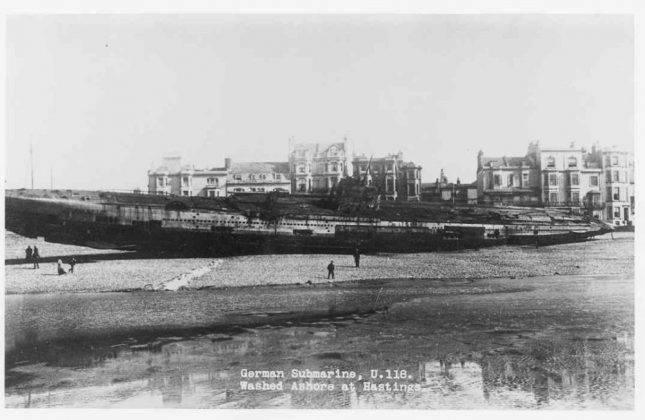 Подлодка U-118 - Stone Forest