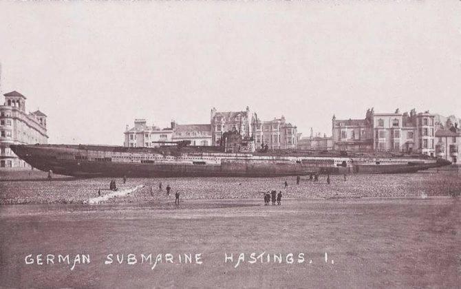 U-118 в городе Гастингс - Stone Forest