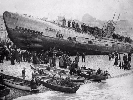 U-118 на пляже Гастингс - Stone Forest
