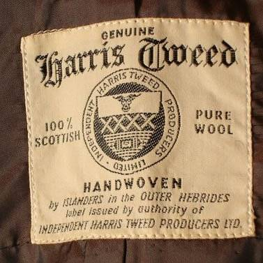 Бирка Harris Tweed - Stone Forest