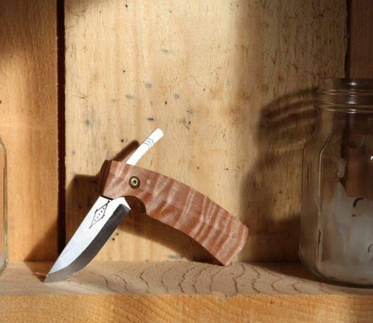 Horse Folding Pack Knife - Stone Forest