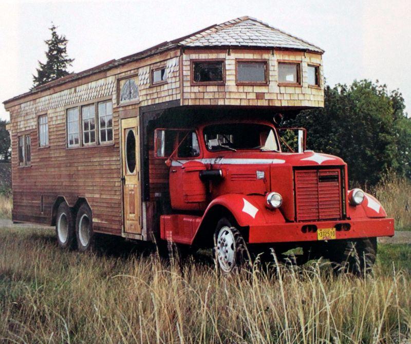 Дома на колесах в эпоху хиппи - Stone Forest