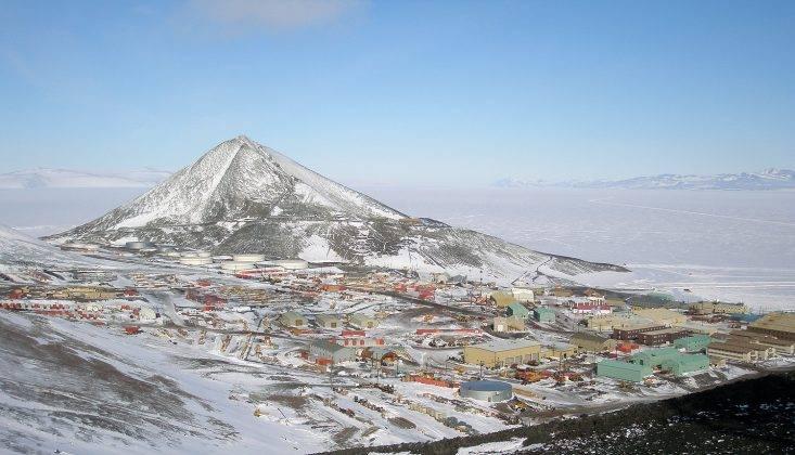 Станция в Антарктике Мак-Мердо - Stone Forest