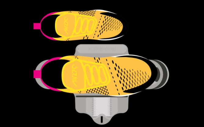 Модель кроссовок Nike Air Max 270 - Stone Forest
