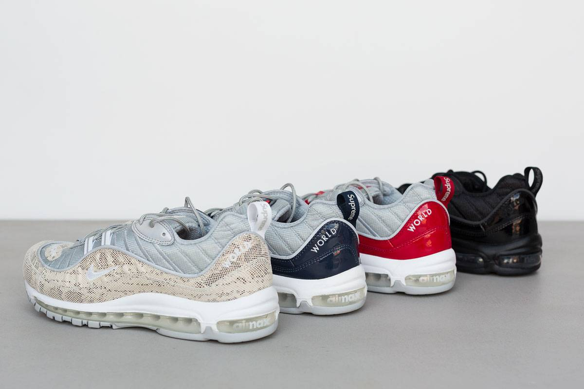 Кроссовки Nike Air Max 98 - Stone Forest