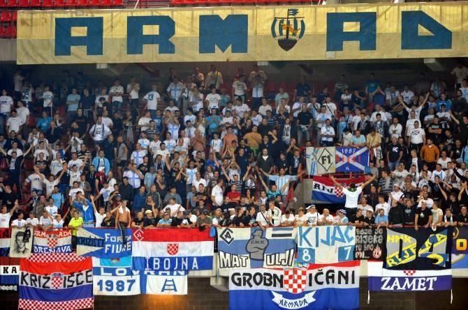 Фанаты ФК Риека Хорватия - Stone Forest