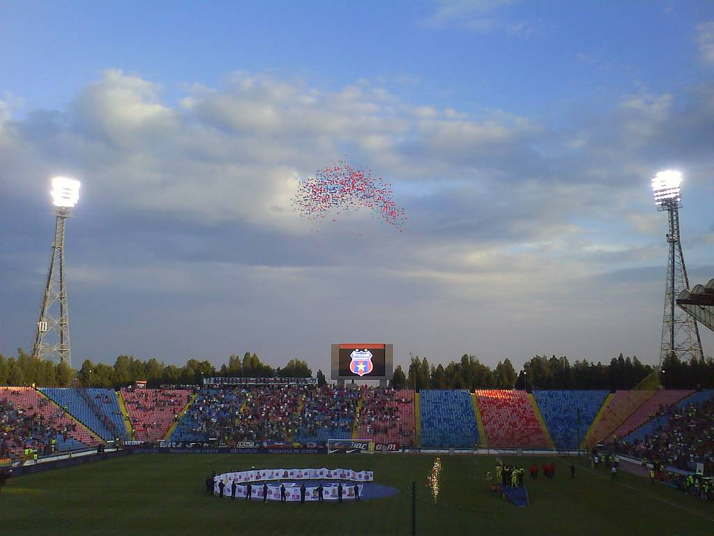 Стадион Стяуа Бухарест - Stone Forest
