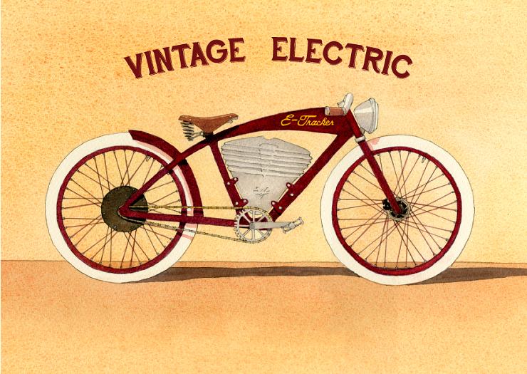 Electrobiker Vintage Electric - Stone Forest