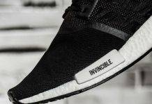 adidas Consortium x NBHD x INVINCIBLE NMD R1 - Stone Forest