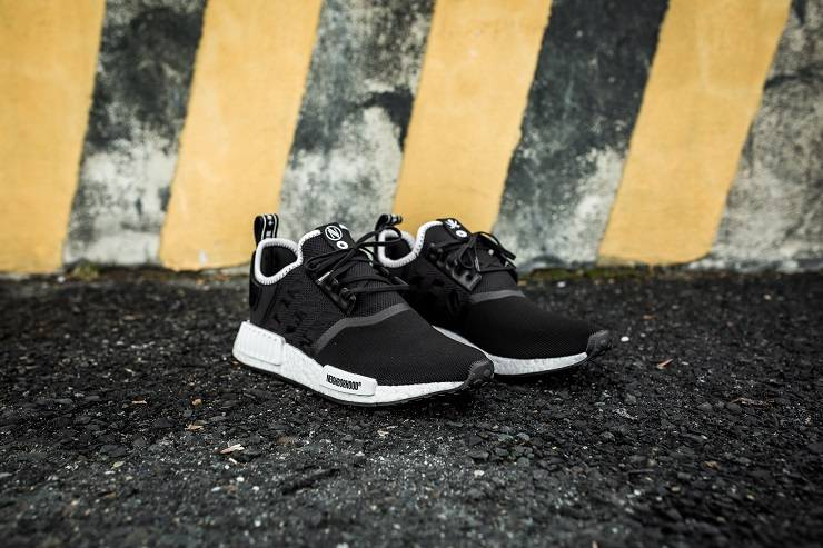 Релиз adidas Consortium x NBHD x INVINCIBLE NMD R1 - Stone Forest