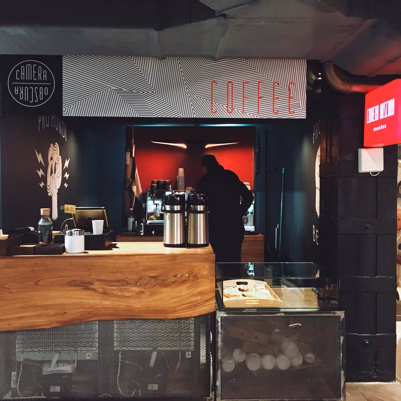 кофейня Camera Obscura на Центральном рынке
