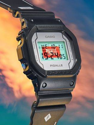 G-SHOCK x PIGALLE - Stone Forest