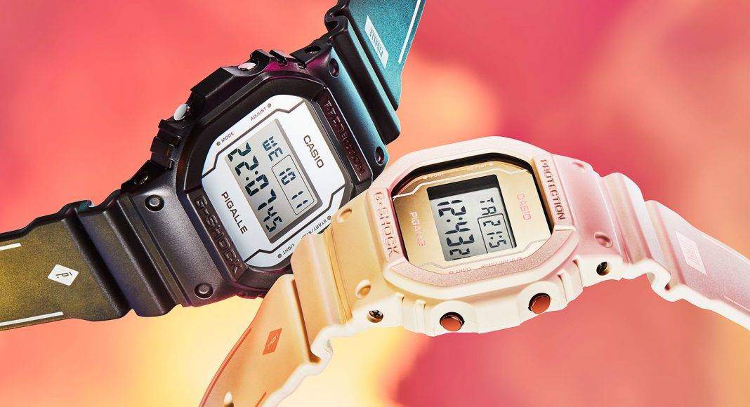 Часы G-SHOCK x PIGALLE - Stone Forest