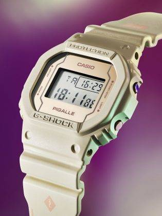 Casio G-SHOCK x PIGALLE - Stone Forest
