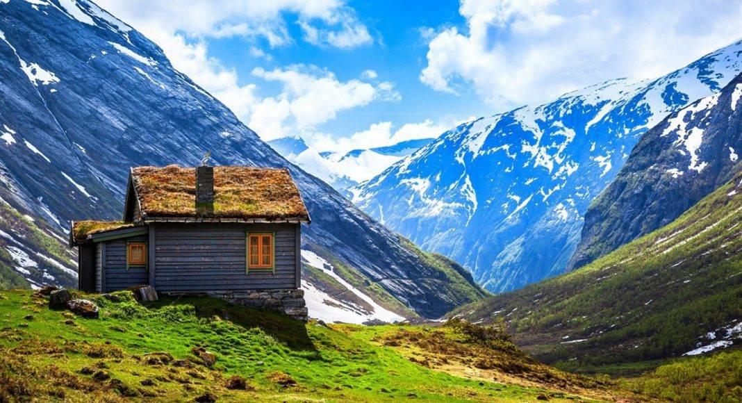 Ландшафт Норвегии - Stone Forest