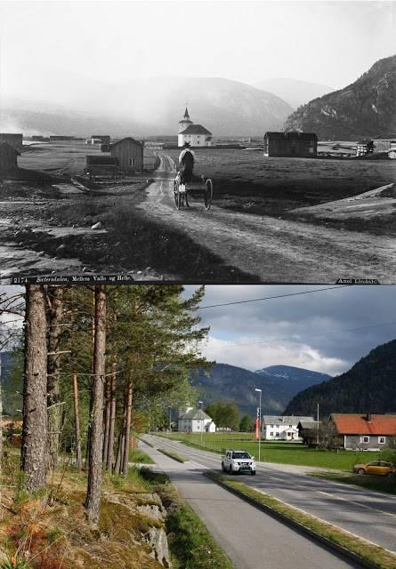 Старые фотографии Норвегии - Stone Forest