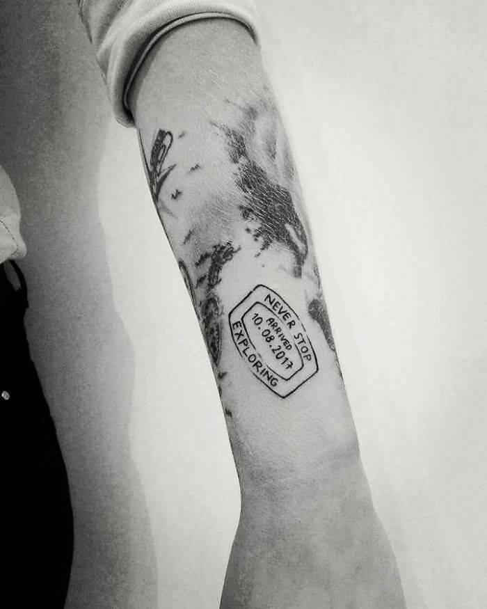 Идея для татуировки путешествия - Stone Forest