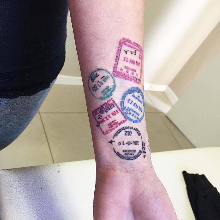 Идея для татуировки путешественников - Stone Forest