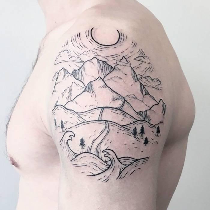 Татуировки путешествия - Stone Forest