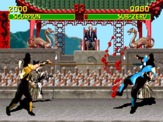 Цензура в Mortal Kombat - Stone Forest