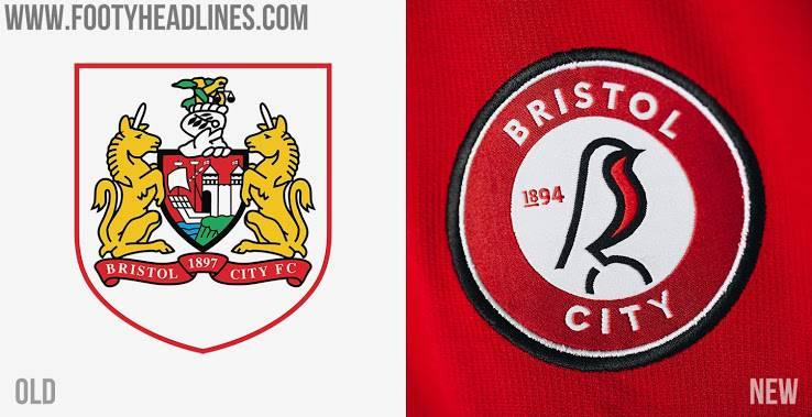 Новый логотип Бристоль Сити - Каменный лес Stone Forest