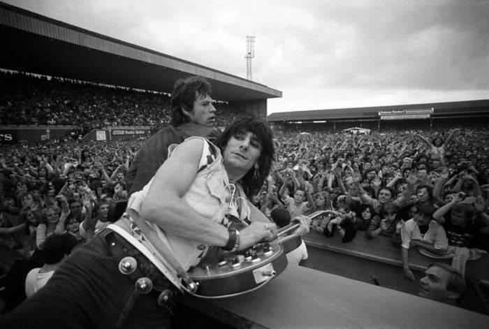 Rolling Stones в Бристоль Сити - Stone Forest