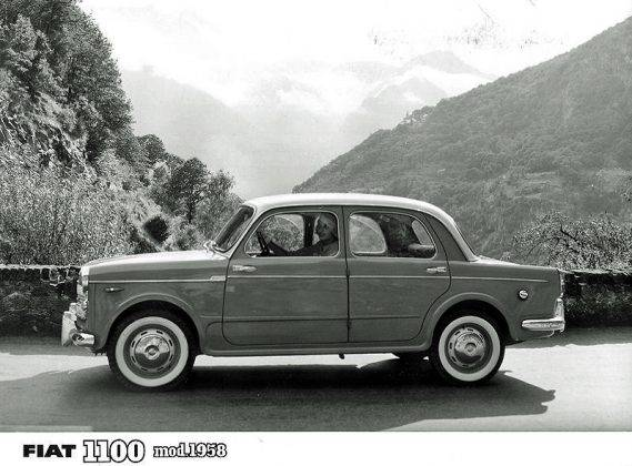 Автомобиль Fiat 1100 - Stone Forest
