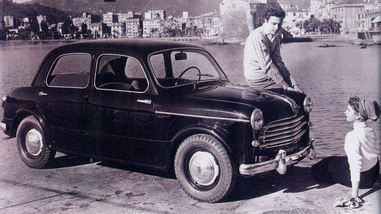 Авто Fiat 1100 - Stone Forest