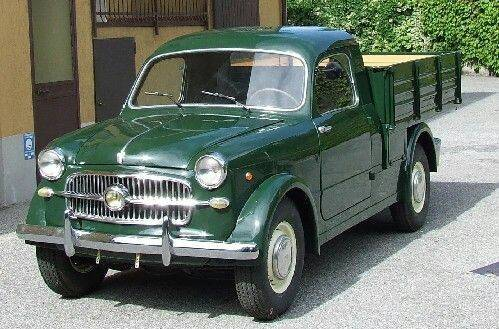 Итальянский Fiat 1100 - Stone Forest