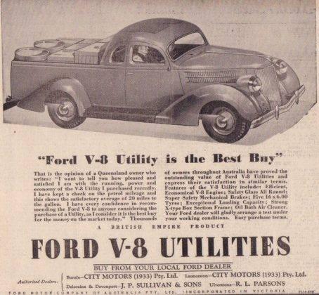 Ford V8 adv - Stone Forest