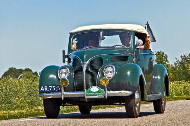 Авто Форд в8 - Stone Forest