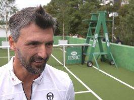 Теннисист Горан Иванишевич - Stone Forest