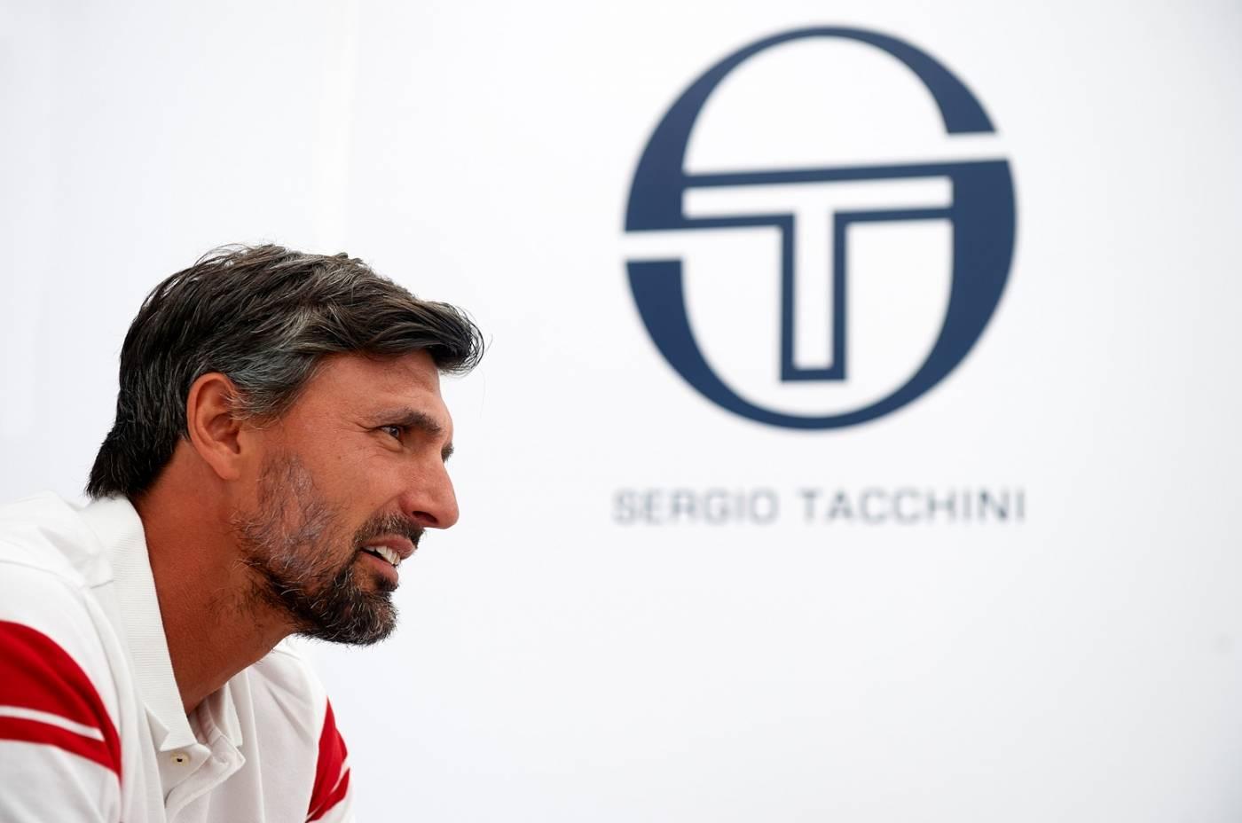 Теннисист Горан Иванишевич и Sergio Tacchini - Stone Forest