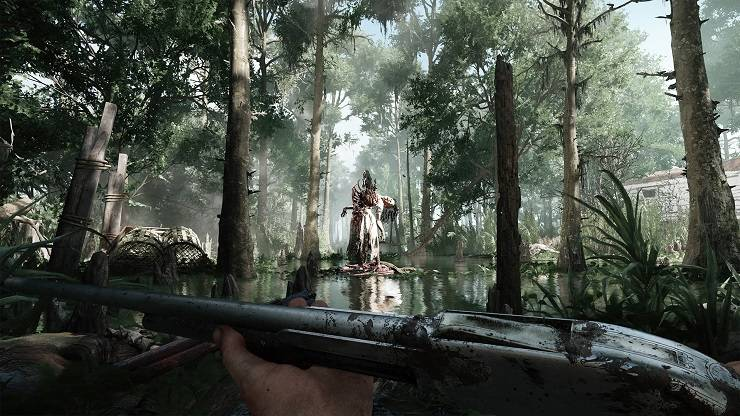 Видеоигра Hunt Showdown - Stone Forest