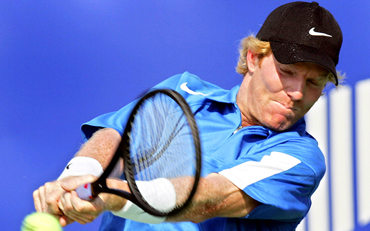 Теннисист Джим Курье - Stone Forest