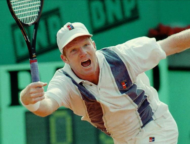 Джим Курье теннис - Stone Forest
