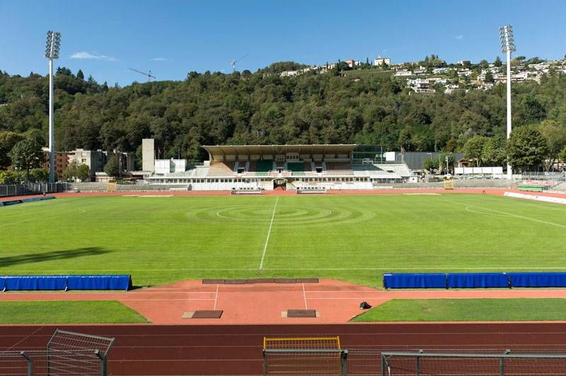 Стадион ФК Лугано - Stone Forest