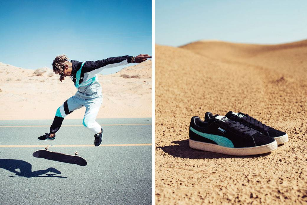 Релиз PUMA x Diamond Supply Co - Stone Forest