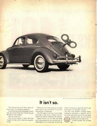 Плакат Volkswagen Beetle - Stone Forest