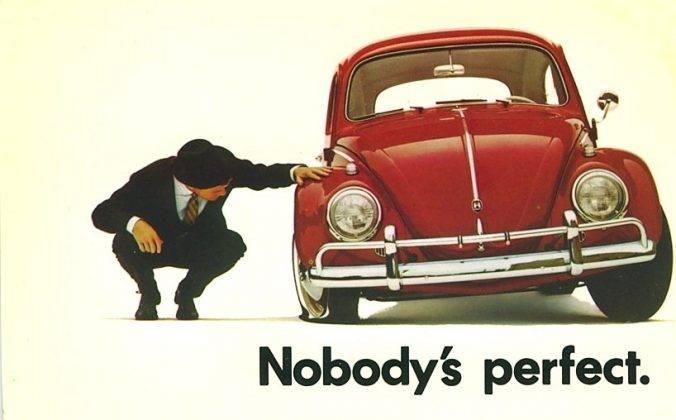 Постер Volkswagen Beetle - Stone Forest