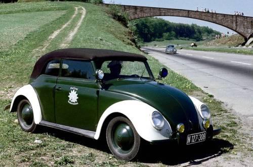 Ретро Volkswagen Beetle - Stone Forest