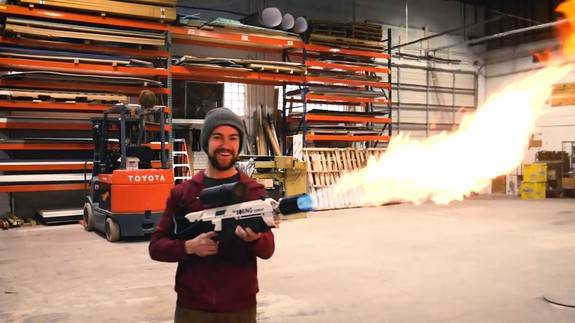 Огнеметы Илона Маска The Boring Company flamethrower - Stone Forest