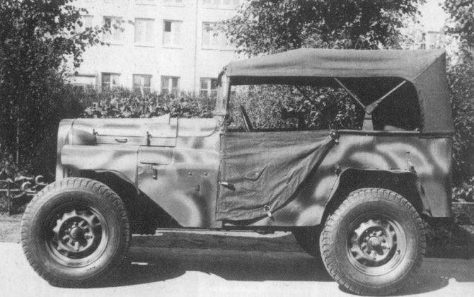 Авто ГАЗ-64 - Stone Forest