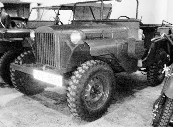 Модель ГАЗ-64 - Stone Forest