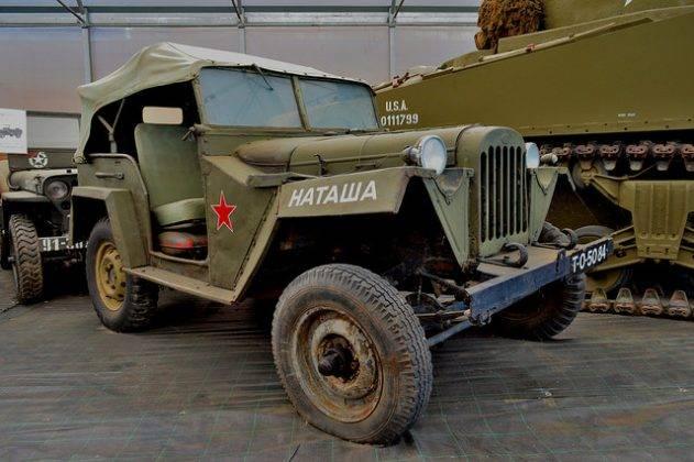 Модель авто ГАЗ-64 - Stone Forest