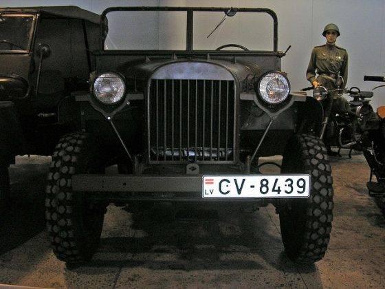 Модель автомобиля ГАЗ-64 - Stone Forest