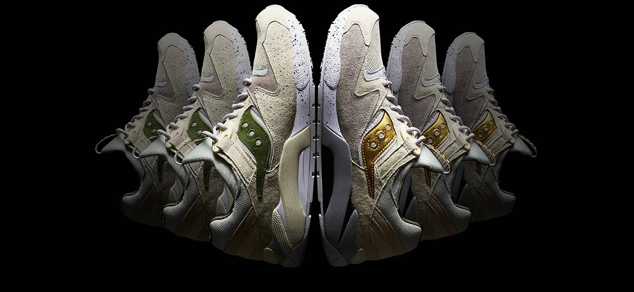 Inner x Saucony - Stone Forest