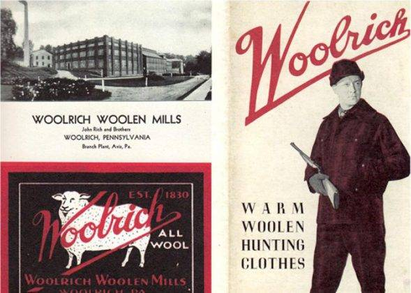 Рекламный постер Woolrich - Stone Forest
