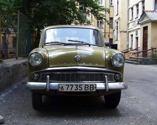 Машина Москвич-402 - Stone Forest