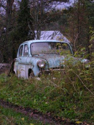 Брошенный Москвич-402 - Stone Forest